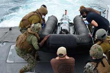 Hải quân Mỹ thử nghiệm tàu lặn không người lái kết hợp tàu tuần tra, mở rộng năng lực trinh sát