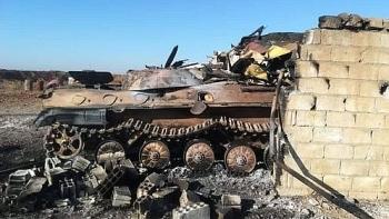 Bị Thổ Nhĩ Kỳ tấn công phá hủy xe bọc thép, SAA không đáp trả mà âm thầm báo lại tin tức cho quân cảnh Nga
