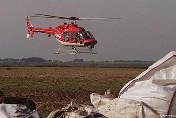 Trực thăng chở đoàn cứu hộ tại Pháp bị rơi xuống từ độ cao 1.800 mét