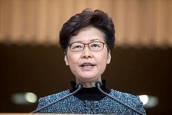 Nhật Bản đóng băng tài khoản ngân hàng của đặc khu trưởng Hong Kong, tuân thủ lệnh trừng phạt của Mỹ
