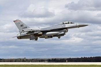 Tiêm kích F-16 Mỹ rơi khi huấn luyện bay đêm, phi công mất tích