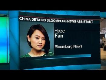 Trung Quốc bắt người của hãng tin Bloomberg tại văn phòng Bắc Kinh