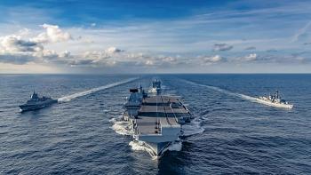 Hải quân Anh có thể điều nhóm tấn công tàu sân bay tới vùng biển gần Nhật Bản