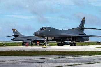 Mỹ điều máy bay ném bom đến Biển Đông để thực hiện những cuộc tập trận