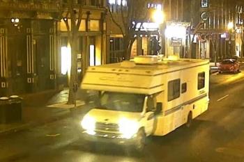 Cảnh sát công bố bức ảnh chiếc xe làm nổ tung trung tâm thành phố ở Mỹ