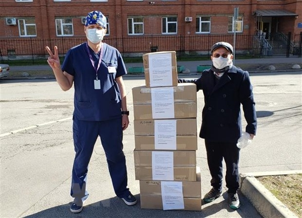 Cộng đồng người Việt ở Saint Petersburg (Nga) giúp đỡ nhau vượt qua đại dịch COVID-19