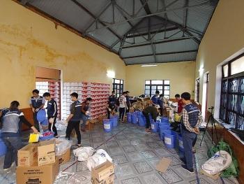 SPIR tặng 1050 suất quà cho bà con vùng lũ Quảng Bình