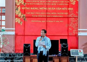 Gặp mặt cộng đồng người Việt tại 8 tỉnh Tây Bắc Campuchia