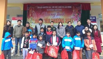 Người Việt ở Daegu (Hàn Quốc) trao 50 phần quà Tết cho học sinh vùng biên giới Quảng Bình