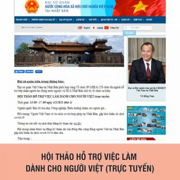Hỗ trợ việc làm cho người Việt tại Nhật Bản trong dịch COVID-19