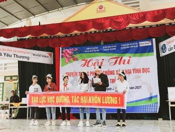 World Vision Việt Nam tổ chức hội thi phòng, chống xâm hại tình dục và bạo lực trẻ em ở Hoà Bình