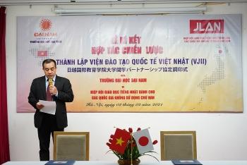 Việt Nam - Nhật Bản hợp tác xây dựng nguồn nhân lực chất lượng cao