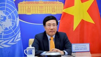 Phó Thủ tướng Phạm Bình Minh kêu gọi bảo đảm vaccine COVID-19 cho tất cả các nước
