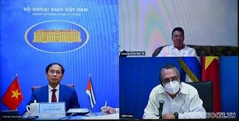 Tham khảo chính trị cấp Thứ trưởng Ngoại giao lần thứ VI Việt Nam - Cuba: rà soát, đánh giá các lĩnh vực hợp tác