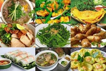 Trình diễn 2 món ăn truyền thống của Việt Nam tại Liên hoan Pháp ngữ 2021 ở Singapore