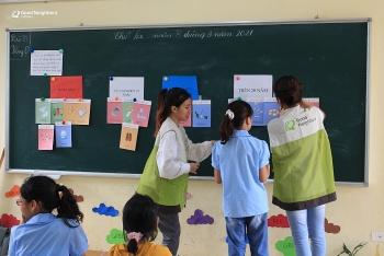 Good Neighbors giảng dạy các lớp bảo vệ môi trường cho trẻ em tại tỉnh Hòa Bình