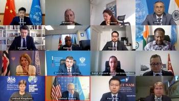Việt Nam tham gia tích cực vào các văn kiện của Hội đồng Bảo an Liên hợp quốc