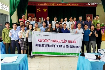 GNI tổ chức tập huấn nâng cao năng lực cho 122 Tình nguyện viên Bảo trợ trẻ em