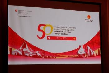 Ra mắt Video clip Logo 50 năm kỷ niệm thiết lập quan hệ Ngoại giao Việt Nam - Thụy Sĩ