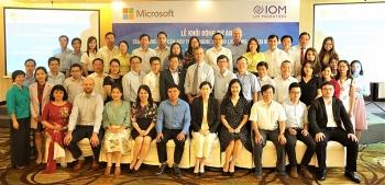 Microsoft và Tổ chức Di cư Quốc tế hỗ trợ đào tạo kỹ năng số cho lao động trẻ tại Việt Nam