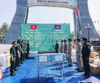 Gia Lai tặng quà, chúc Tết lực lượng bảo vệ biên giới Campuchia