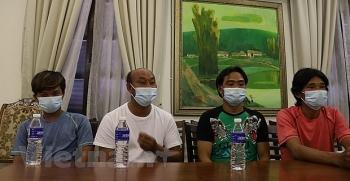 Thăm hỏi, trợ giúp ngư dân Việt Nam gặp nạn tại vùng biển Malaysia