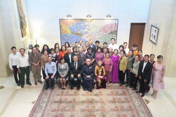 Đại sứ Yamada Takio gặp mặt, giao lưu với 38 thành viên gia đình của các cựu binh Nhật Bản tại Việt Nam