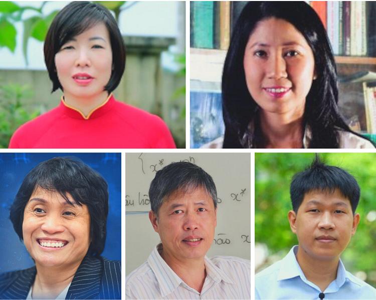 5 người Việt lọt vào danh sách nhà khoa học xuất sắc nhất châu Á