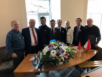 Hội CCB Việt Nam tại Ukraine thiết lập được mối quan hệ thắm tình đồng chí, anh em với Hội CCB nước sở tại