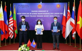 Ra mắt Hướng dẫn ASEAN về lồng ghép giới trong chính sách lao động và việc làm