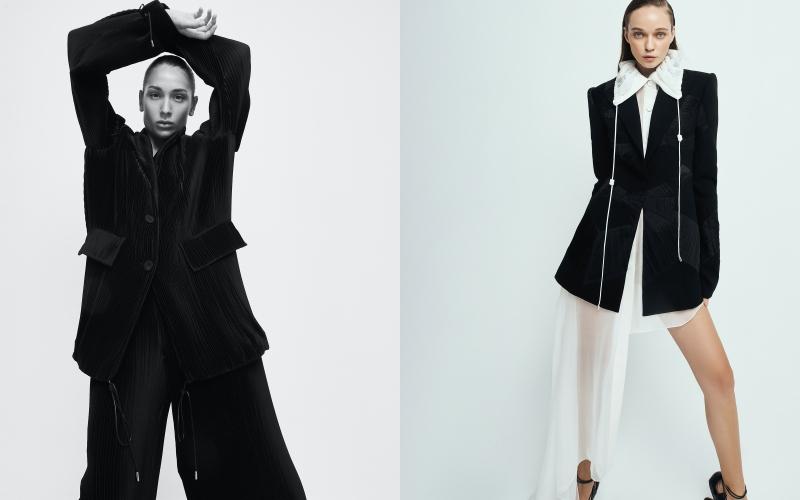 Bộ sưu tập Thu Đông 2021 của NTK Công Trí xuất hiện trên tạp chí Vogue Mỹ 3