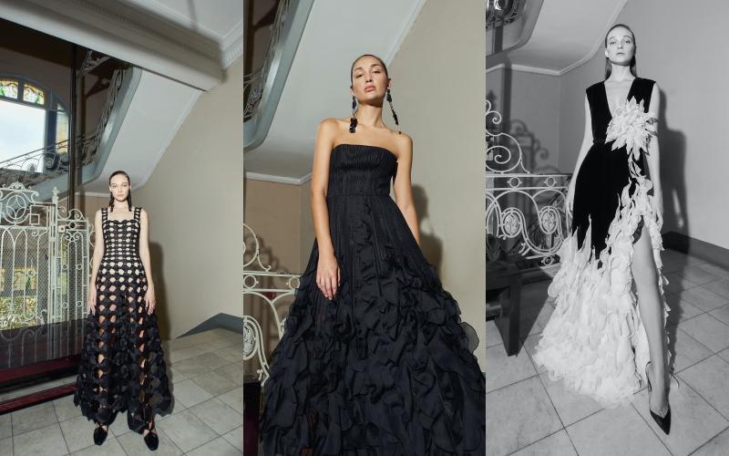 Bộ sưu tập Thu Đông 2021 của NTK Công Trí xuất hiện trên tạp chí Vogue Mỹ 8