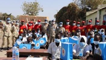 Người dân Nam Sudan cảm ơn bộ đội, bác sĩ Việt Nam