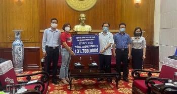 Hiệp hội Đồng bào hải ngoại Việt Nam tại Macau (Trung Quốc) trao 131 triệu ủng hộ phòng chống dịch