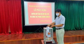Cộng đồng người Việt tại Preah Sihanouk (Campuchia) ủng hộ Quỹ vaccine phòng COVID-19