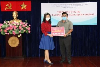 Ủng hộ Quỹ vaccine, Hiệp hội phát triển kinh tế văn hóa giáo dục Đài - Việt mong cuộc sống bình yên trở lại