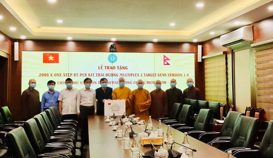 Giáo hội Phật giáo Việt Nam Nepal phòng, chống dịch COVID-19