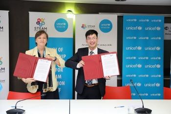 UNICEF và STEAM for Vietnam hợp tác để trẻ em được tiếp cận giáo dục STEAM miễn phí