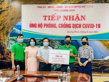 PeaceTrees VietNam ủng hộ 3.000 USD cho Quỹ Vaccine phòng chống Covid-19