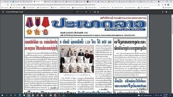 Báo chí Lào ca ngợi về tình hữu nghị vĩ đại, đoàn kết đặc biệt và hợp tác toàn diện Lào - Việt Nam