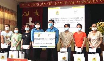 New Zealand hỗ trợ tiền mặt cho 420 nữ công nhân bị ảnh hưởng Covid-19 tại Bắc Giang, Bắc Ninh