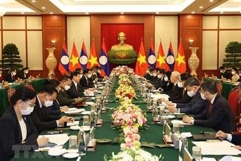 Toàn văn tuyên bố chung Việt Nam - Lào