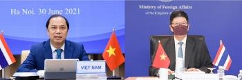 Phối hợp, thúc đẩy tổ chức các hoạt động kỷ niệm 45 năm thiết lập quan hệ ngoại giao Việt Nam - Thái Lan