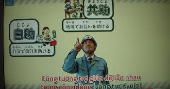 Cư dân Việt Nam giúp thành phố Koriyama (Nhật Bản) làm video phòng chống thiên tai