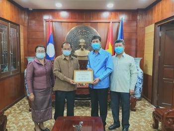 Tỉnh Xay Nhạ Bu Ly (Lào) ủng hộ Quỹ phòng, chống dịch Covid-19 của tỉnh Quảng Ninh