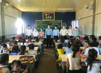 Khai giảng lớp học đầu tiên dành cho 70 con em người gốc Việt chuyển đổi nghề nghiệp tại Campuchia