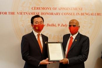 Bổ nhiệm Lãnh sự danh dự Việt Nam tại Ấn Độ cho doanh nhân Srinivasa Murthy