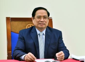 Thủ tướng Phạm Minh Chính đề nghị Israel hỗ trợ Việt Nam tiếp cận các nguồn vaccine Covid-19