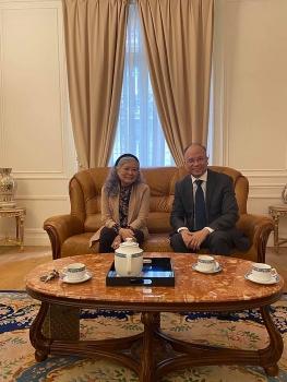 Bà Trần Tố Nga xúc động trước sự quan tâm, ủng hộ của Nhà nước và Hội nạn nhân chất độc da cam/dioxin Việt Nam