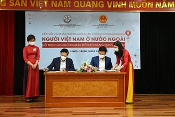 Kết nối và phát huy nguồn lực người Việt Nam ở nước ngoài hỗ trợ cho khởi nghiệp đổi mới sáng tạo Việt Nam